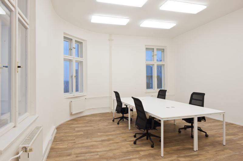 Office in Impact Hub Ostrava