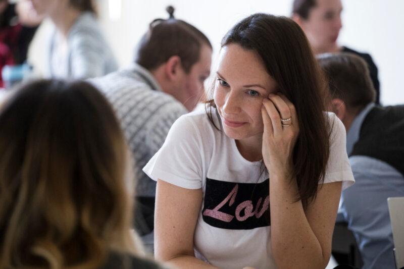Účastnice workshopu vImpact Hub Ostrava